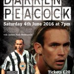 5 pairs of FREE tickets to give away for this event. To win simply follow me and RT. Winners announced fri #nufc https://t.co/G4QErE1wuH