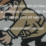 Good deals dont just show up. Put in effort to find them. #sme #Zambia #www.smeaccountingservices.com #sme #zambia https://t.co/SpgGXavJbP
