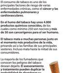 #DiaMundialSinTabaco La OMS hace hincapié en los riesgos asociados al consumo del tabaco https://t.co/8LkOebQS2y