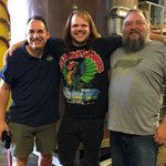 Look who mashed in w us today! @CalebJohnson & @AshevilleBrewin--2 #avl originals. #avlbeer #americanidol https://t.co/gNWRzmRxo8