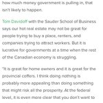 """""""PROFIT OVER PEOPLE."""" """"Our real estate market is not great for people, but lucrative for govt."""" #vanpoli #bcpoli https://t.co/pAc2hkGQ3q"""