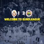 WELCOME TO EUROLEAGUE! @GalatasaraySK https://t.co/IpbCSSL8G7