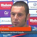 """#DiegoCervero """"La afición estuvo a la altura, nosotros no."""" #RealOVIEDO ????https://t.co/aRoDi22fbN https://t.co/L9MuTpORhl"""
