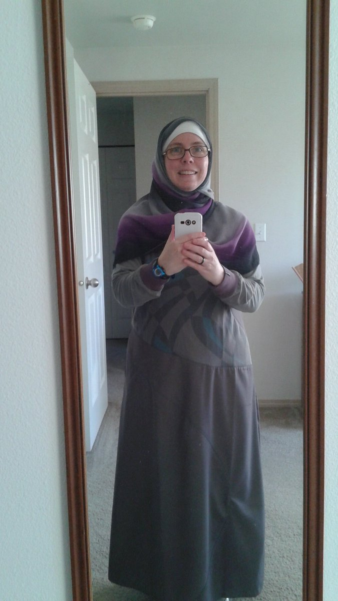 I'm aromantic & asexual. Both queer & Muslim, whole in myself. Also, I love ace pride hijabs #queerselflove https://t.co/lU3sCyWg2C
