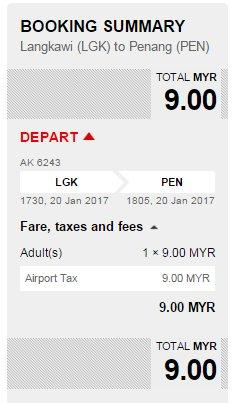Kalau orang Langkawi teringin nak ais kepal? Fly je ke Penang. RM9
