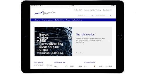New feeling, new look: check out the new corporate website of Deutsche Börse https://t.co/DGN5pTfkJT #digital #mobil https://t.co/asnd09BwoN