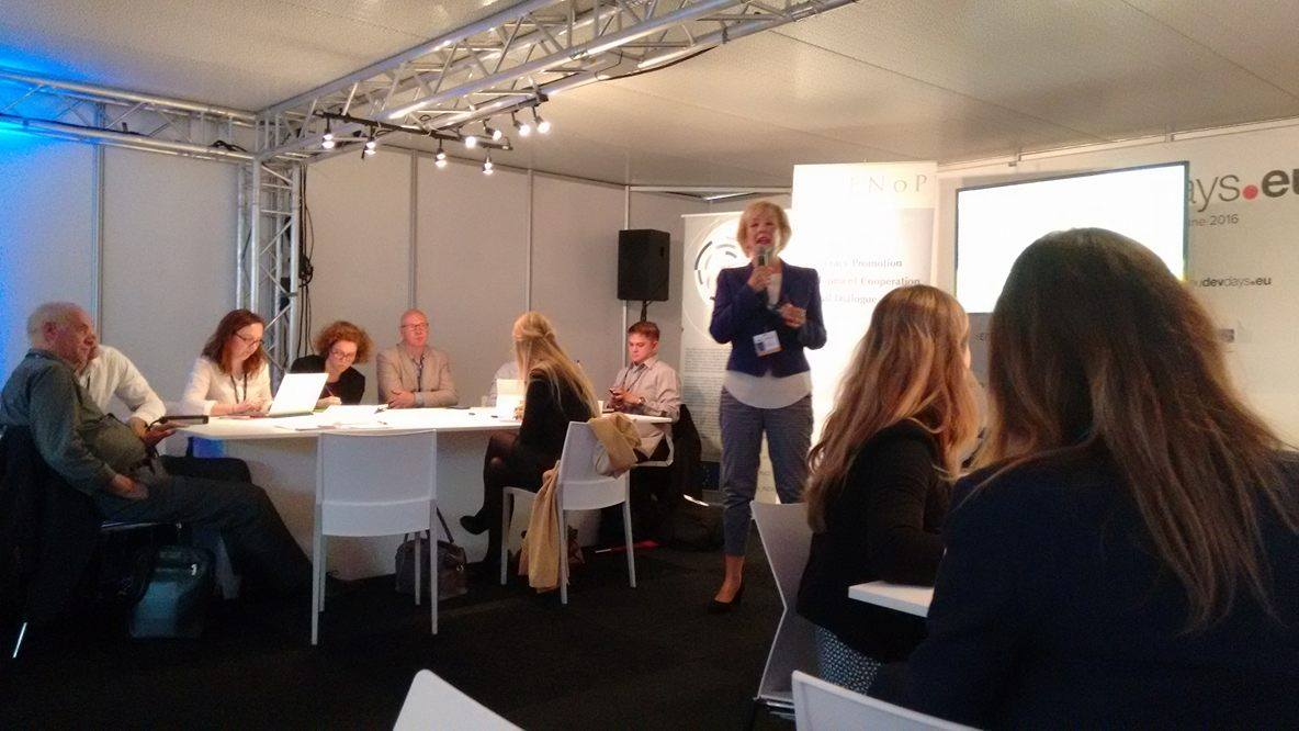 """Better collab between gvrnts, biz, development agencies & other #sustainability actors is key "" Gudrun Kopp #EDD16 https://t.co/RXFdoH0Qbh"