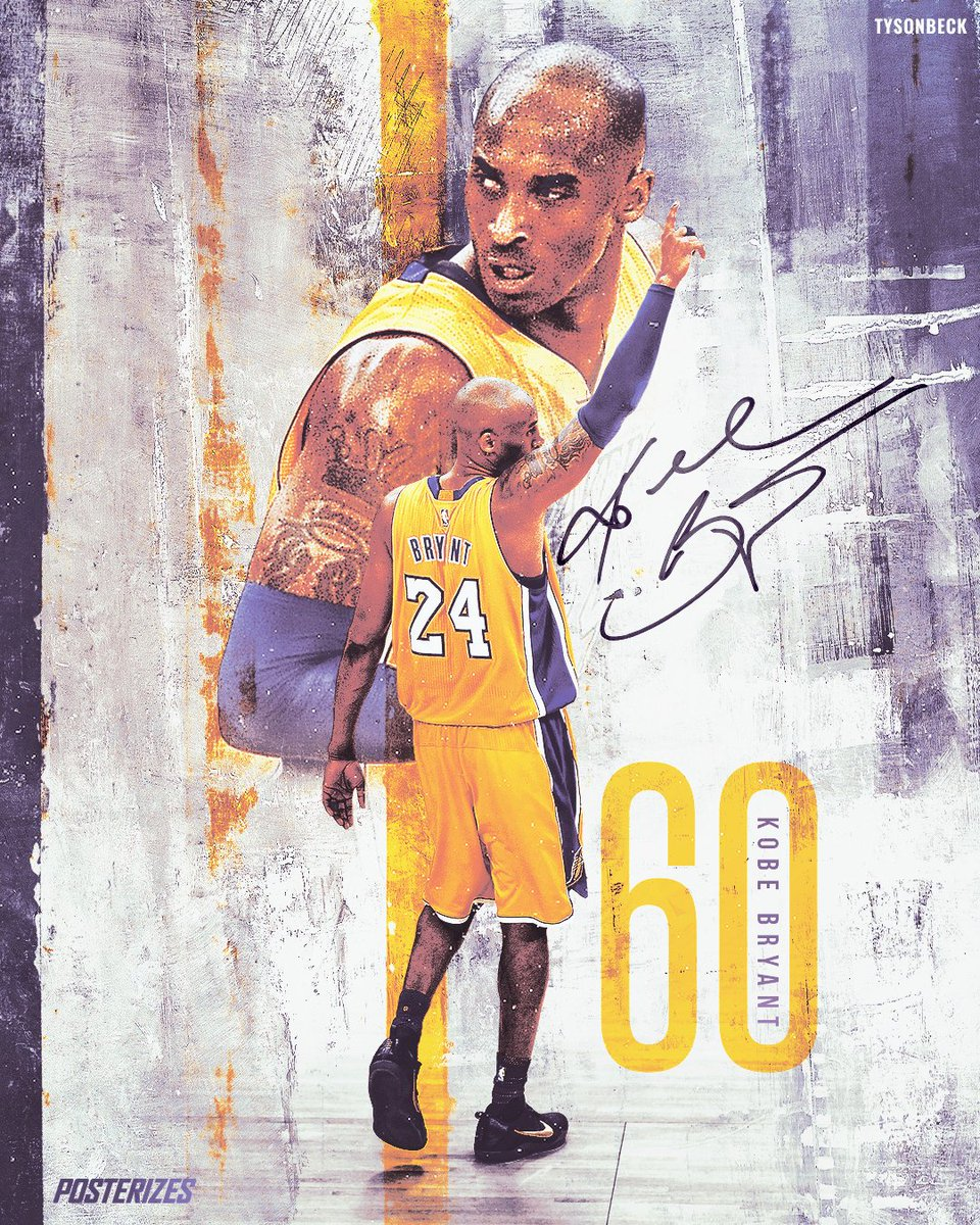 60 days ago @kobebryant left the court for the final time with 60 pts, outscoring the Jazz 13-0 in the final 2 mins https://t.co/Ly12Z6besV