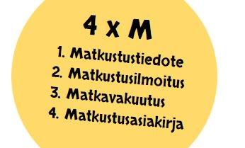 Älä ole turakainen, vaan muista 4 tärkeää asiaa, kun lähdet