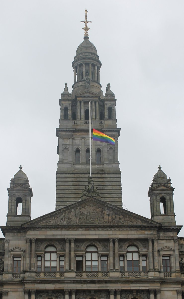 Glasgow's Lord Provost - Our thoughts and prayers are with all those affected by the terrible atrocity in #orlando https://t.co/pw0l6LyD9R