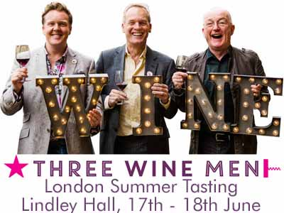 Great #competition! 2 pairs tickets for @ThreeWineMen London Tasting this week https://t.co/x1zKU0hJQm RT TO ENTER https://t.co/Q6ta54nEPt