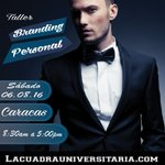 TALLER #BRANDING PERSONAL * 6 de agosto * #Caracas * https://t.co/Z3FEGCKCCb @LacuadraU https://t.co/wFw01NrJRs #marca #imágen