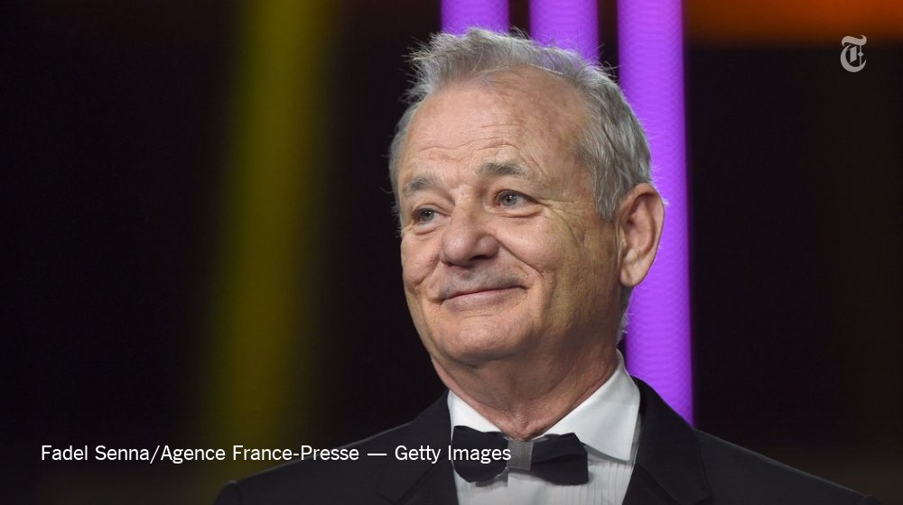 Bill Murray will be presented with the Mark Twain Prize for American Humor