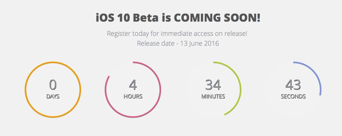 #Apple #iOS10 to drop today for instant access register NOW  https://t.co/7TKrr6p4PJ  With AppAddict @moviebox_app https://t.co/9o0nb2vA09