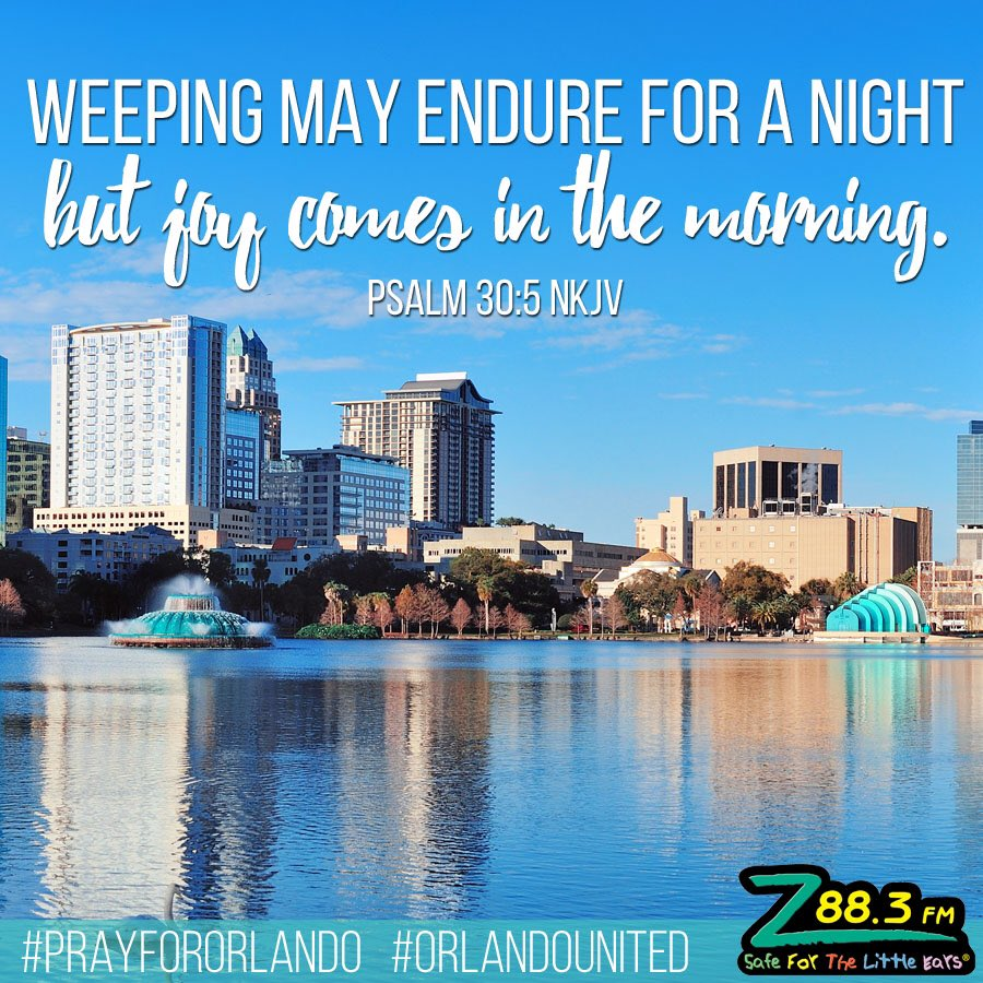 Let's replace dark with hope, healing & compassion and show the world Jesus today! #PrayforOrlando #OrlandoUnited https://t.co/h0RsXntkCA