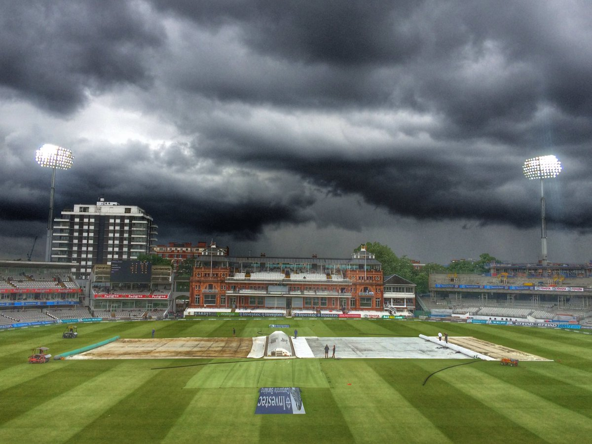 The scene at Lord's - hmmmm https://t.co/SbES2aYAUc