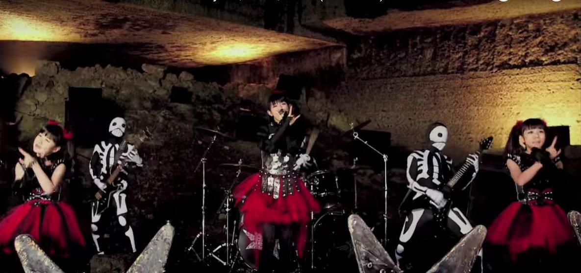 test ツイッターメディア - BABYMETAL/ベビーメタル『イジメ、ダメ、ゼッタイ』  メジャー1枚目のシングル。PVは、メタルが迫害を受ける世界の中で、ベビーメタルと骨バンドがパフォーマンスをする映像‥ https://t.co/IluwYo4kbL … https://t.co/EiIvIRH4ia