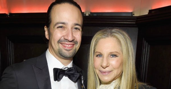 Barbra Streisand & Hamilton's Lin-Manuel Miranda are true Broadway royalty: