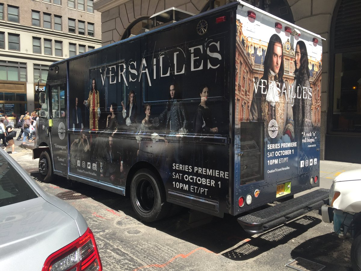 Spotted in NYC. #Versailles is coming soon! https://t.co/KtBRKVsYQe