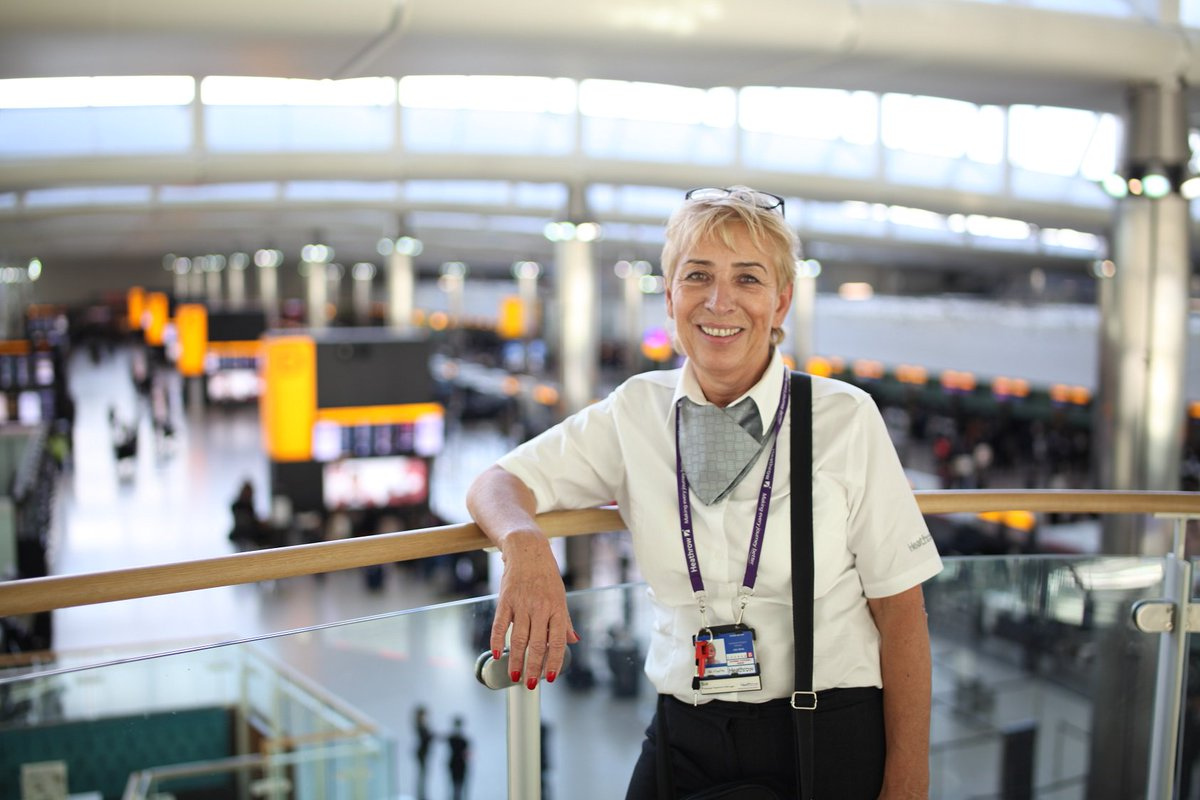 Sue's been at LHR for 22 years! Find out more about her job: