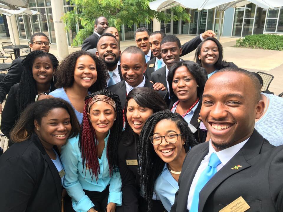 Several members of the National Executive Board (NEB) this weekend in Michigan! #NSBE https://t.co/H4rkCaHGpg