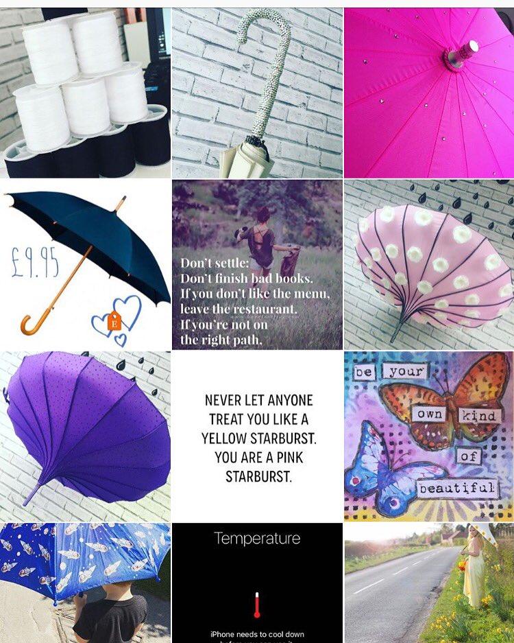 Last week's happening at Love Umbrellas HQ ❤️️