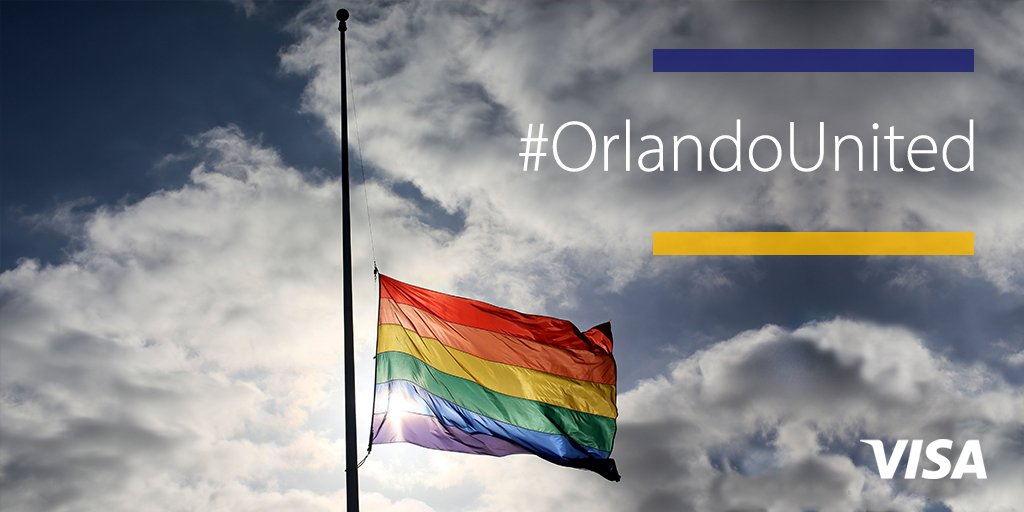 Our hearts and thoughts go out to those impacted by the devastating and senseless tragedy in Orlando  #OrlandoUnited https://t.co/LWXJKa9wrS