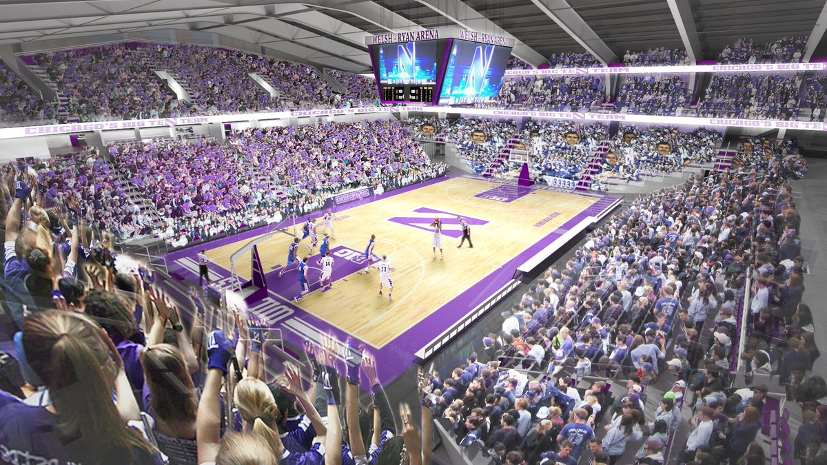 BREAKING: Complete, $110+ million renovation announced for Welsh-Ryan Arena.   https://t.co/fkhhSH5GOs  #B1GCats https://t.co/Xn0FntY25Q