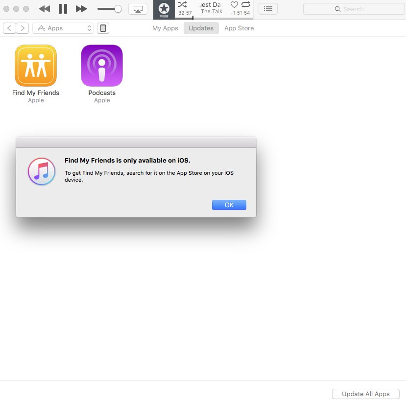 Are we not downloading iOS apps to Mac iTunes anymore? https://t.co/VkdfdsQbFJ