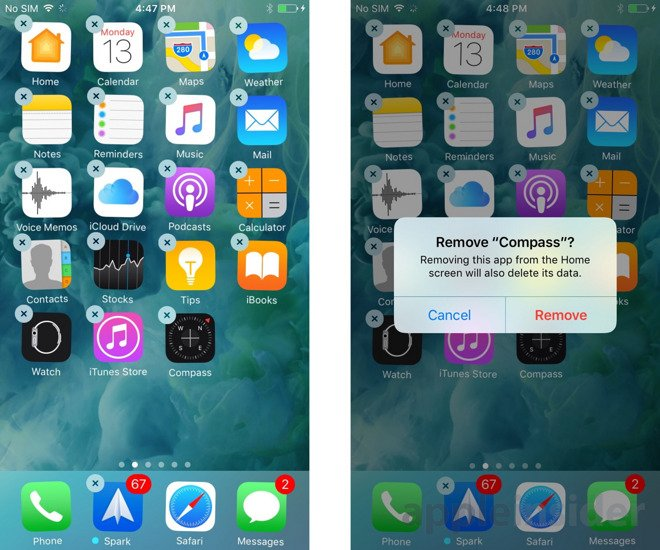 #iOS10 will allow deleting first-party apps cluttering homescreens https://t.co/7eJejTLToS https://t.co/0xBD04Ve6l