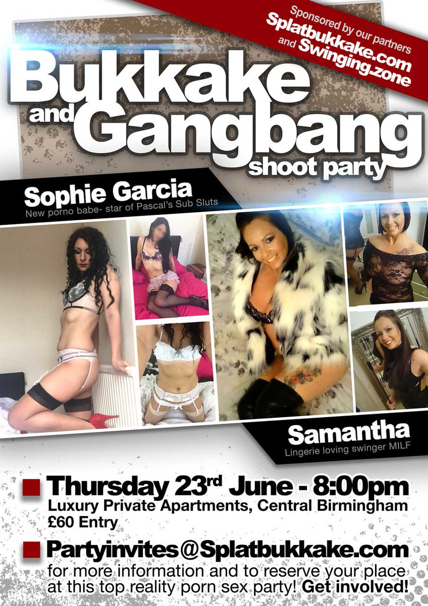 #bukkake #gangbang THURSDAY 23rd JUNE, 8pm BIRMINGHAM with HKhRkdmEBg