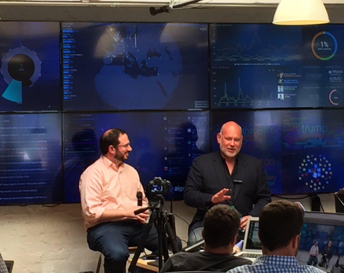 Great having @EdelmanPR's (& @ZignalLabs Advisor) Steve Schmidt stop by for our June #DatasideChat https://t.co/s1f2ddNYuO