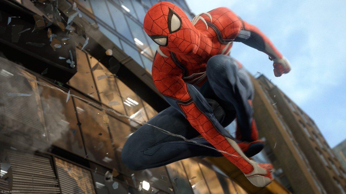 Insomniac x Sony x Marvel = #SpiderManPS4 https://t.co/1J4CHcMBvR https://t.co/8ofij9GSGe