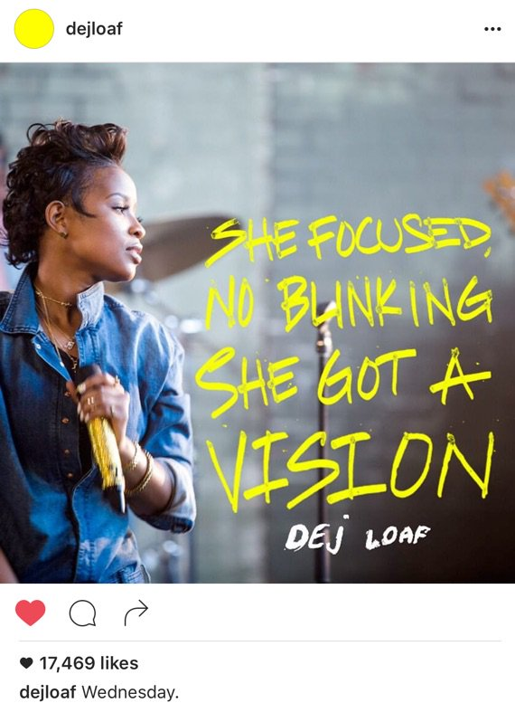 And Wednesday it is!!! @DeJLoaf Dropping
