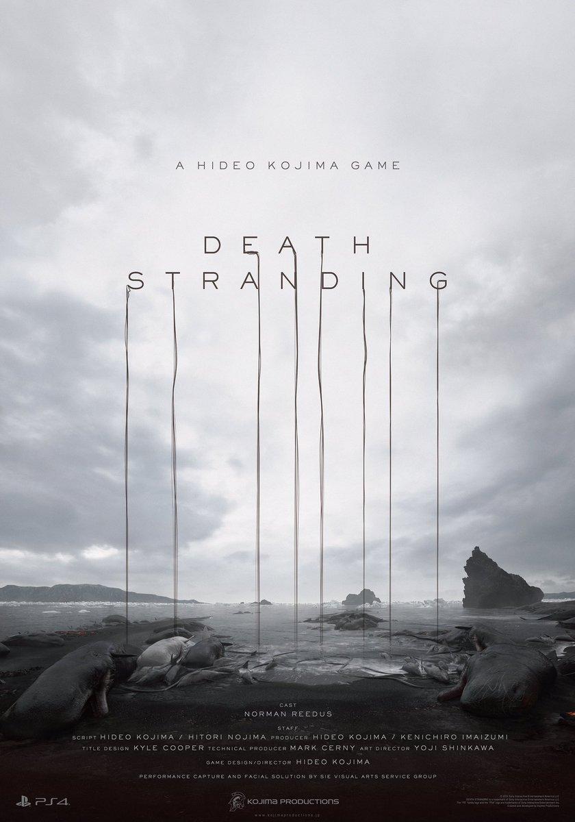 ソニーカンファレンスにて、新作「DEATH STRANDING」を発表しました! https://t.co/C6Rr6xczYu