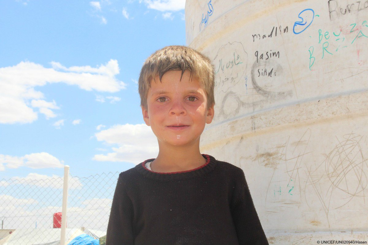"RT @UNICEF: ""I love school and I would like to work in education when I grow up"" Rezan, 9 from #Iraq, living in a camp in #Syria https://t.…"