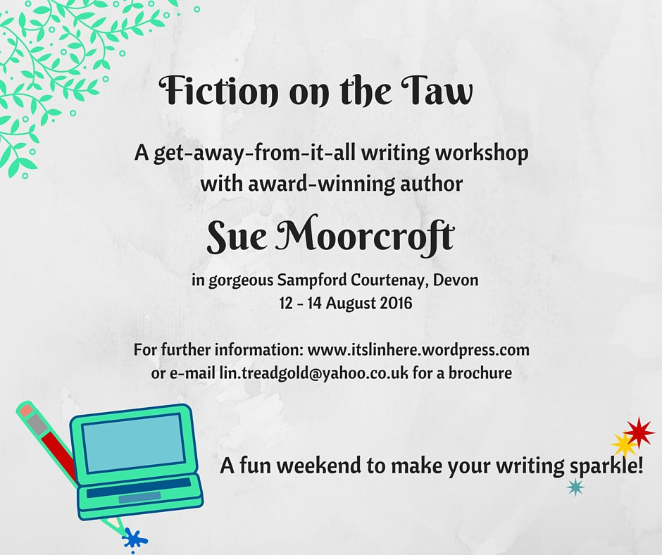Last few places on this course run by Fiction on the Taw! @RNAtweets #TuesNews https://t.co/scaRYRXZeQ