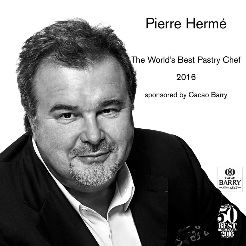 #Worlds50Best​ Restaurants 2016: #PierreHerme was awarded World's #BestPastryChef ​​last night @TheWorlds50Best https://t.co/5orvzbiP5X