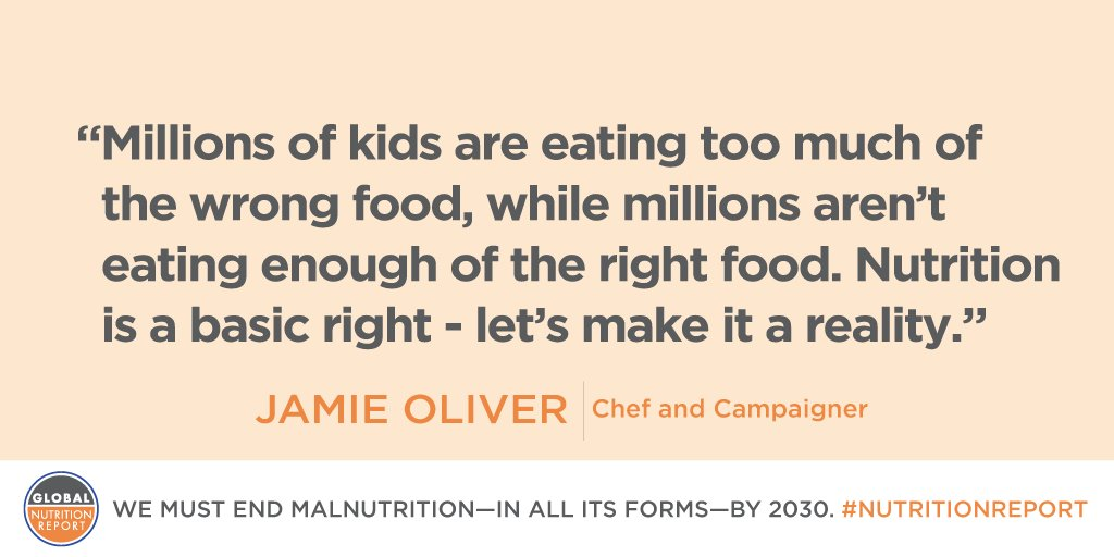 RT @FoodRev: Today the @GNReport 2016 report launches! https://t.co/iacp2bc9Cx #NutritionReport Shows we need a #foodrevolution! https://t.…