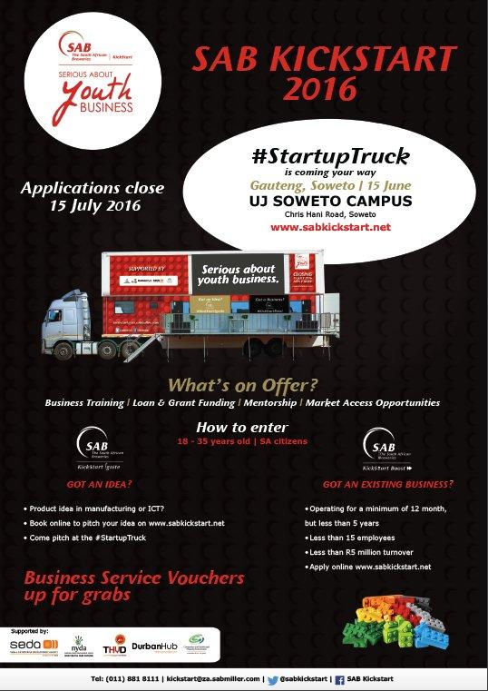 @SABKickStart #StartupTruck stopover @ #UJSoweto ksasa with partners @NYDARSA #SEDA @DurbanHub @TheHookupDinner https://t.co/oz44aad2CY