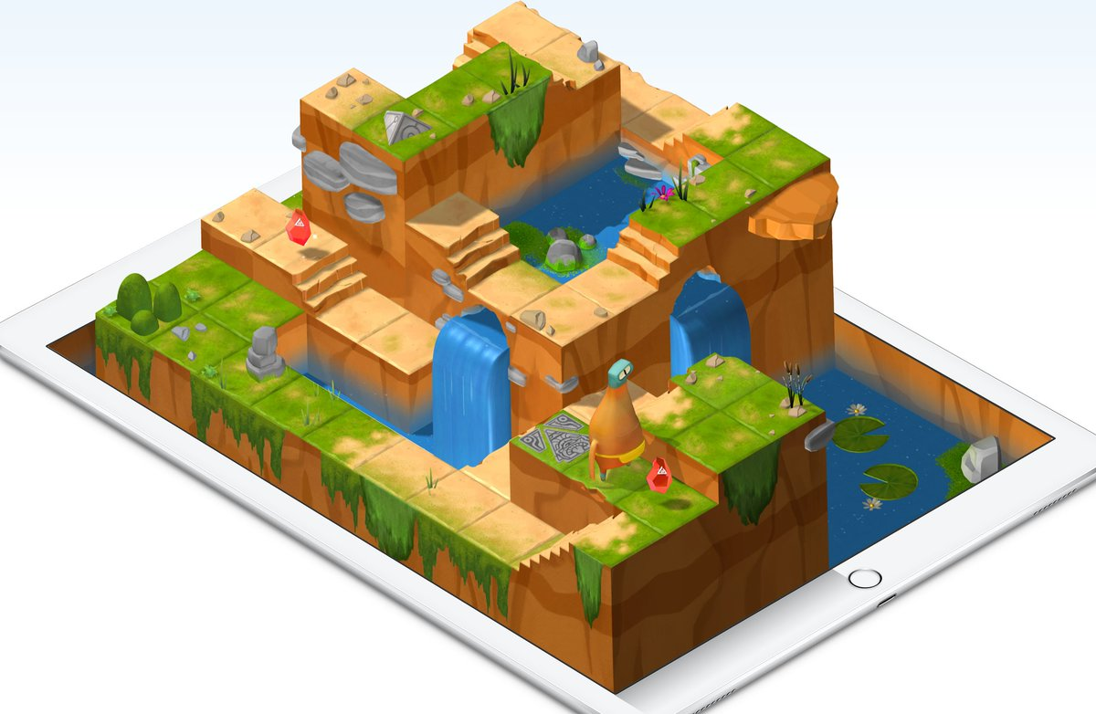 Oh wow. Swift Playgrounds looks like an amazing way to learn the basics of code https://t.co/lYwju4J1my https://t.co/VrvdpJ02nk