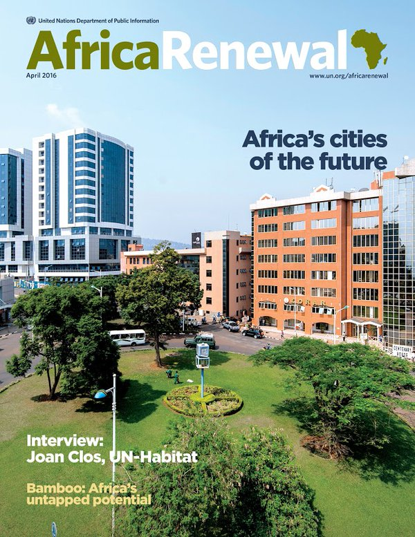 #Kigali is one of Africa's rising cities. Read more about its development in Africa Renewal: https://t.co/grr6ygmahd https://t.co/BbgRVKXUru