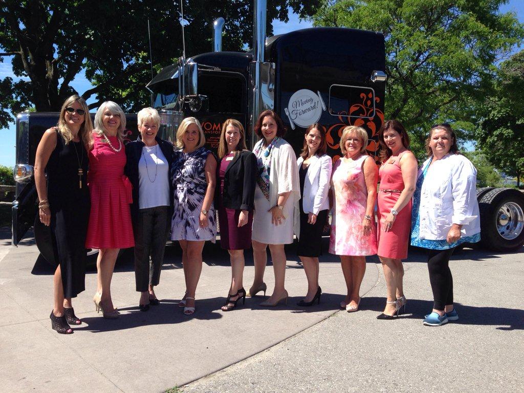 Toronto Transportation Club celebrating Women in Transportation today! https://t.co/JdB7vpjy9t