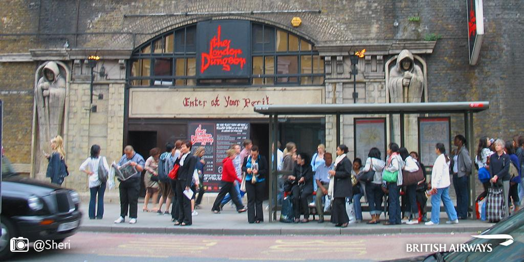 Let the LondonDungeon take you back in time with their Escape the Great Fire experience.