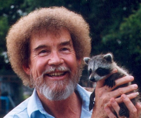 People might look at you a bit funny, but it's okay. Artists are allowed to be a bit different. #bobross #beyourself https://t.co/jB35blJjCQ