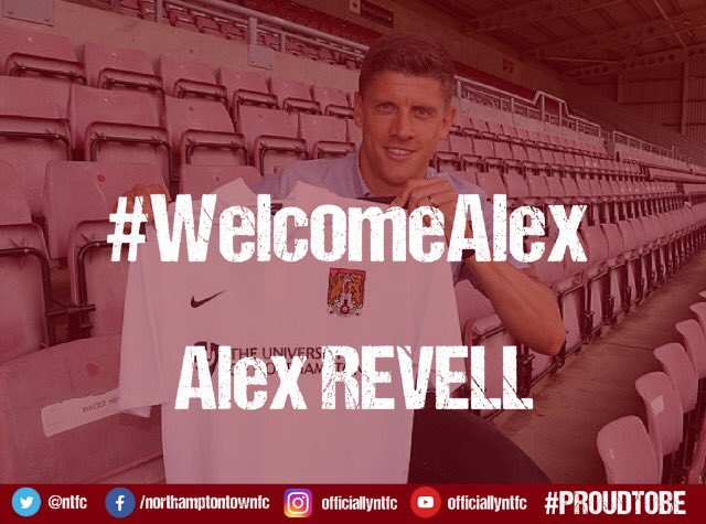 We are delighted to announce the signing of striker Alex Revell on a 2 year contract from July 1st. https://t.co/qFdTDOFrvy