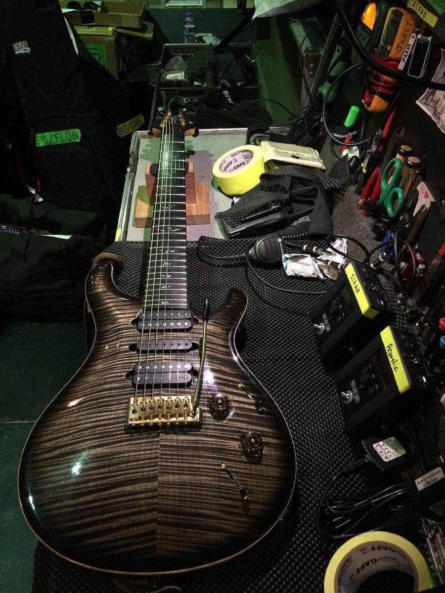 #1 getting new strings today in Copenhagen, Denmark. @prsguitars https://t.co/RidWM7dVqr