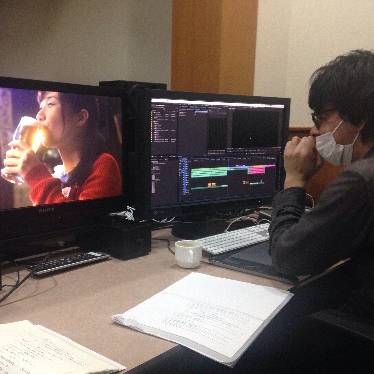 本日6/14(火)深夜3時25分より監督した『ワカコ酒 Season2』第11夜「飲み会初幹事、焼きとん」がテレビ東京に