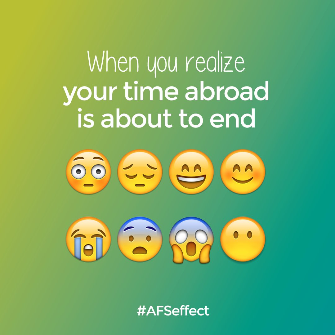 #AFS #AFSeffect #intercultura #intercultural #studyabroad #exchangestudent #exchangestudents #intercambio #emoji https://t.co/L5BS4nebM7