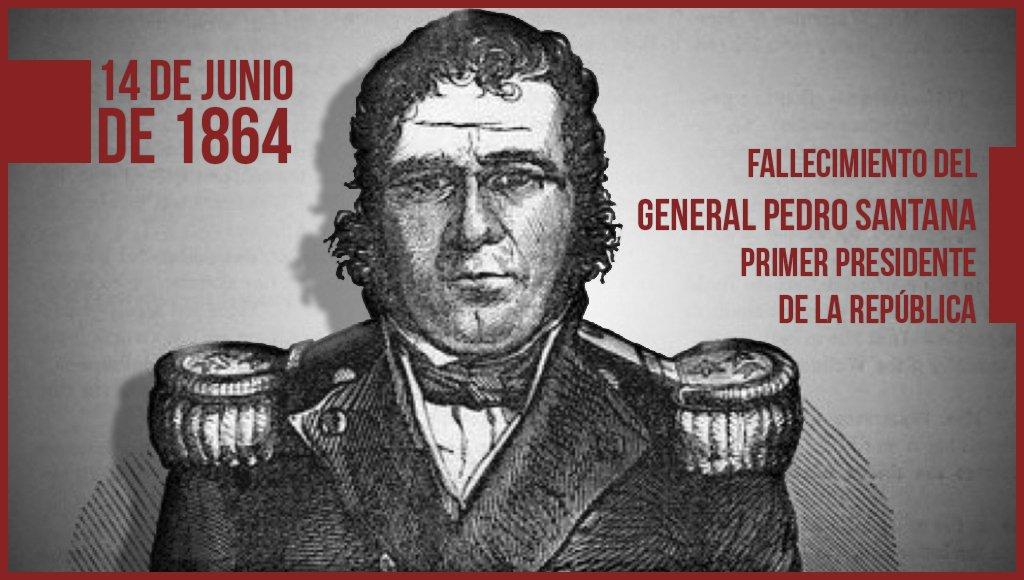 Hoy se conmemora 152 Aniversario de la muerte de Pedro Santana, primer Presidente de la República Dominicana. https://t.co/FP4X8d7zpC